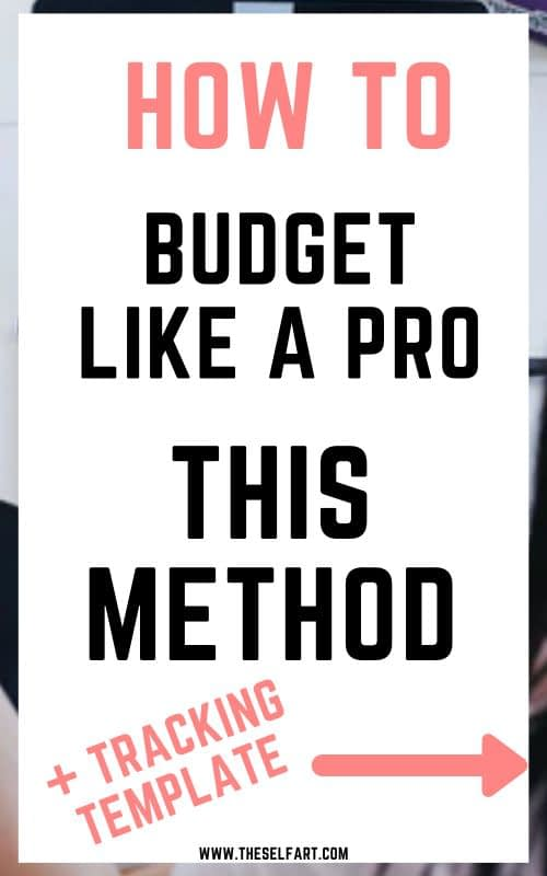 How to create a minimalist budget