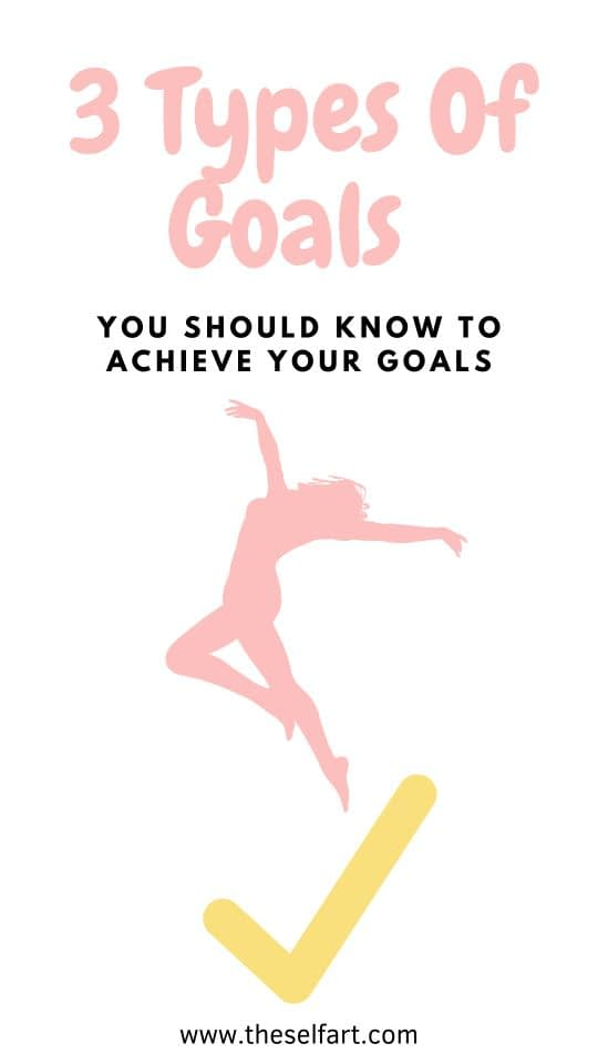 Before you know these 3 Types Of Goals, You Must Do These Too