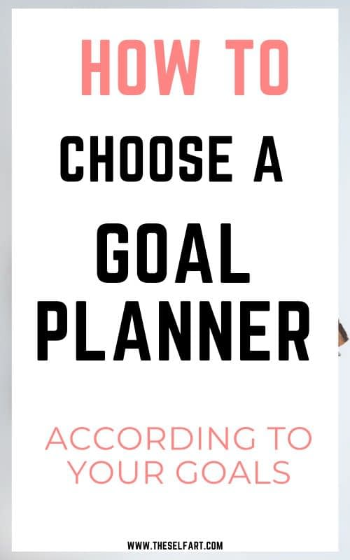 Best setting goal planners