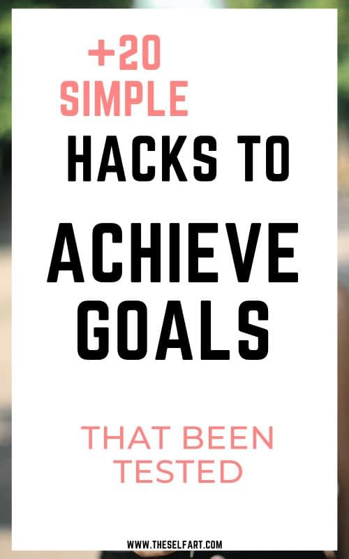 how to achieve goals and dreams