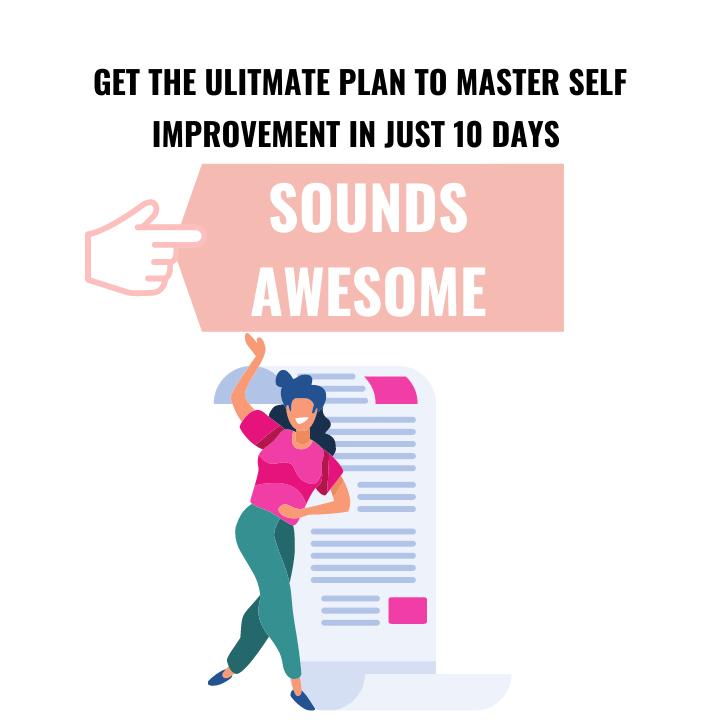 self improvement plan pdf