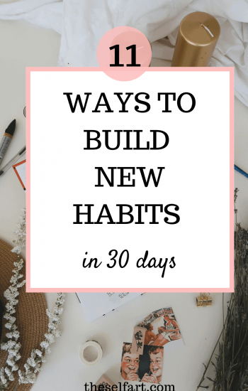 11 ways to build new habits